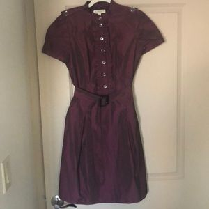 Burberry purple dress